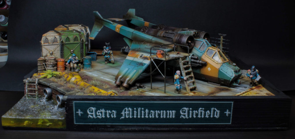 Astra Militarum Airfield